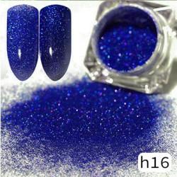 Efekt sparkling dust holo szron 2w1 w słoiczku h16 - amazing line