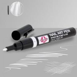 AllePaznokcie Pisak / flamaster do stylizacji paznokci 01-biały 7ml