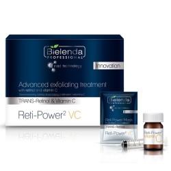 Bielenda zabieg złuszczający retinol i witamina c
