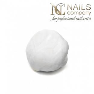 Nails company plastelina do zdobień - white 5g - plasticine art