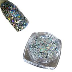 Efekt summer colic opal neon glitter effect w słoiczku 3ml - 5h