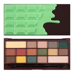 Makeup revolution paleta cieni mint chocolate