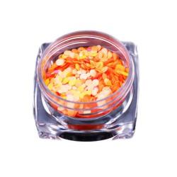 EFEKT Confetti Metalic PIEGI słoiczek Pomarańcz Róż
