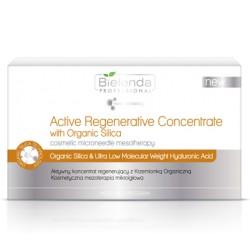 Bielenda zestaw aktywnych koncentratów regenerujących z krzemionką organiczną 10x3 ml