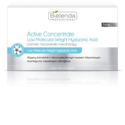 Bielenda zestaw aktywnych koncentratów z niskocząsteczkowym kwasem hialuronowym 10x3 ml