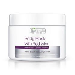 Bielenda maska do ciała z czerwonym winem 600 g