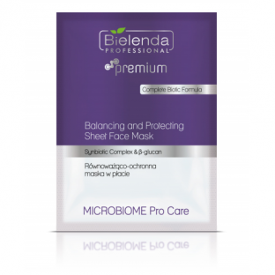 BIELENDA MICROBIOME Pro Care Równoważąco -ochronna kremowa maska w płacie