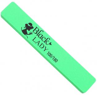 Black lady polerka szeroka do paznokci *100/180 zielona