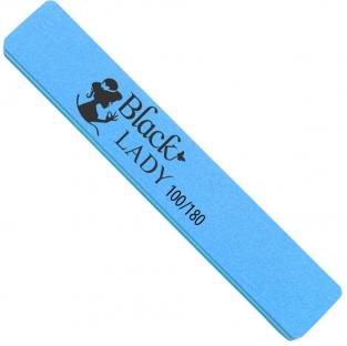Black lady polerka szeroka do paznokci *100/180 niebieska