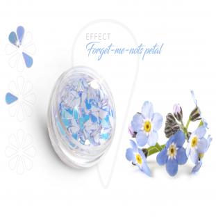Forget petal efekt opalizujące płatki na paznokcie