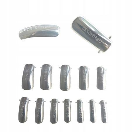 Dual system formy 24szt budowa paznokcia akrylożel