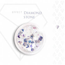 Diamond stone effect szlachetny kamień efekt opalizujący 3d
