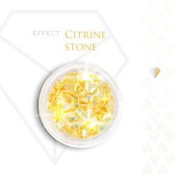 Citrine Stone Effect Szlachetny Kamień Efekt Opalizujący 3D