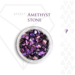 Amethyst Stone Effect Szlachetny Kamień Efekt Opalizujący 3D