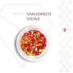 Vanadinite Stone Effect Szlachetny Kamień Opalizujący 3D