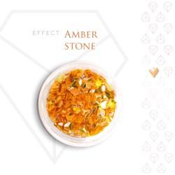 Amber Stone Effect Szlachetny Kamień Efekt Opalizujący 3D