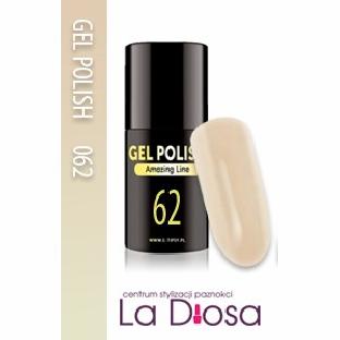 Polish gel uv lakier hybrydowy 62