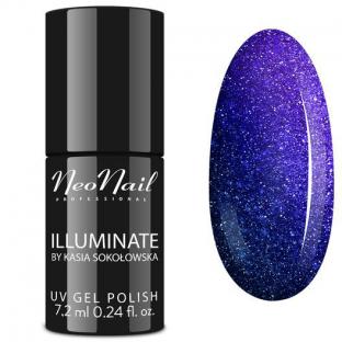 NeoNail Lakier Hybrydowy Illuminate Royal Sapphire 6380