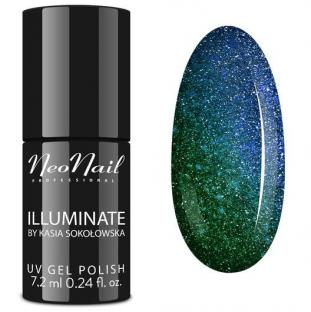 NeoNail Lakier Hybrydowy Iluminate Intense Malachite 6382