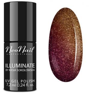 NeoNail Lakier Hybrydowy Illuminate Mystic Amber 6385
