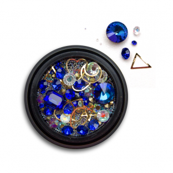 Ozdoby na paznokcie Biżuteria zdobienie Mix 04