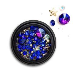 Ozdoby na paznokcie Biżuteria zdobienie Mix 04c