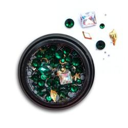 Ozdoby na paznokcie Biżuteria zdobienie Mix 11