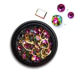 Ozdoby na paznokcie Biżuteria zdobienie Mix 12
