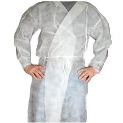Fartuch Ochronny higieniczny wiązany z włókniny rozm. L