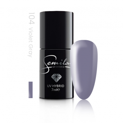Semilac lakier hybrydowy 104 violet gray
