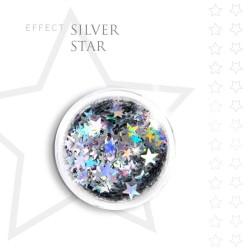 SILVER STAR efekt ozdoby opalizujące na paznokcie