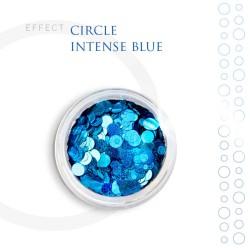 CIRCLE efekt ozdoby na paznokcie Intense Blue