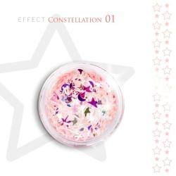 Gwiazdki efekt ozdoby na paznokcie Constellation 01