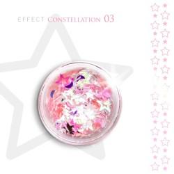 Gwiazdki efekt ozdoby na paznokcie Constellation 03