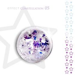 Gwiazdki efekt ozdoby na paznokcie Constellation 05