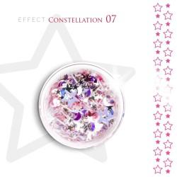 Gwiazdki efekt ozdoby na paznokcie Constellation 07