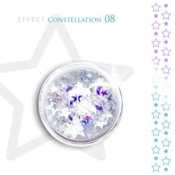 Gwiazdki efekt ozdoby na paznokcie Constellation 08