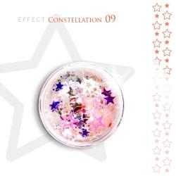 Gwiazdki efekt ozdoby na paznokcie Constellation 09