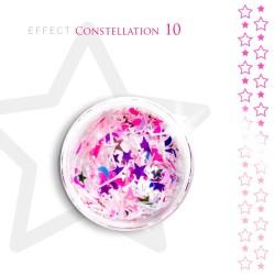 Gwiazdki efekt ozdoby na paznokcie Constellation 10