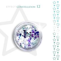 Gwiazdki efekt ozdoby na paznokcie Constellation 12