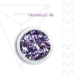 Trójkąty Opalizując ozdoby 3D unicorn Triangle 06