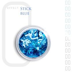 Stick Efekt do paznokci ozdoby niteczki Blue