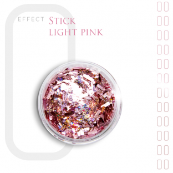 Stick Effect Opalizujące Paski do Zdobień Light Pink