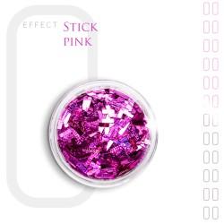 Stick Efekt do paznokci ozdoby nitki Pink