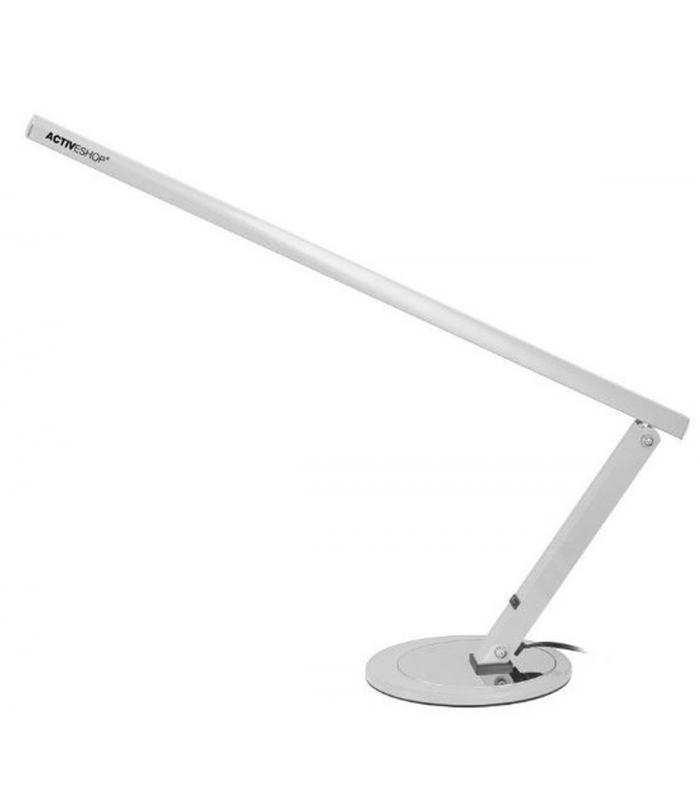 SLIM LAMPA na biurko Manicure KOSMETYCZNA 20W srebrna