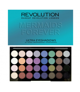 Makeup revolution mermaids forever - paleta cieni