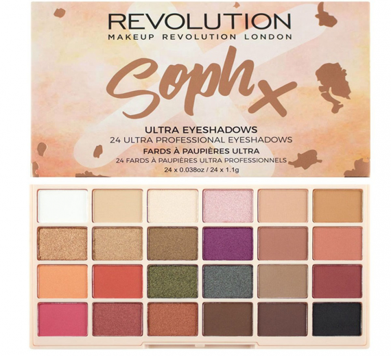 Makeup Revolution Soph X Eyeshadow paleta cieni