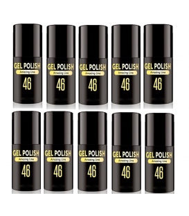 Gel polish zestaw 5+5 lakier hybrydowy