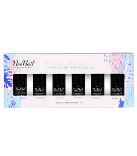 Neonail zestaw 6 lakierów kolekcja pastel romance