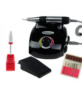 Frezarka manicure pedicure dm208 moc 40w czarna + Frez ceramiczny